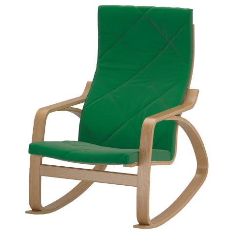 Кресло-качалка ПОЭНГ зеленый артикуль № 891.505.76 в наличии. Интернет сайт ИКЕА РБ. Быстрая доставка и установка.