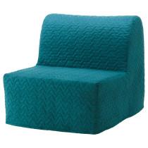 Кресло-кровать ЛИКСЕЛЕ ЛЁВОС бирюзовый артикуль № 791.341.53 в наличии. Онлайн сайт IKEA РБ. Быстрая доставка и установка.