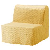 Кресло-кровать ЛИКСЕЛЕ МУРБО желтый артикуль № 691.341.63 в наличии. Интернет сайт IKEA РБ. Недорогая доставка и установка.