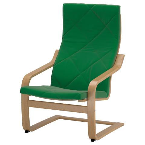 Кресло ПОЭНГ зеленый артикуль № 991.505.33 в наличии. Онлайн сайт IKEA Республика Беларусь. Быстрая доставка и монтаж.