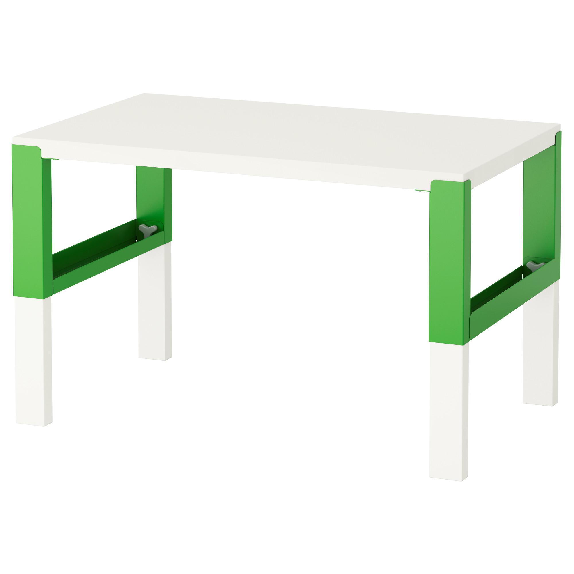 Письменный стол зеленого цвета