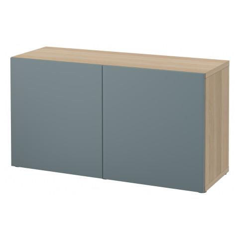 Стеллаж с дверьми БЕСТО артикуль № 391.329.57 в наличии. Онлайн магазин IKEA Минск. Быстрая доставка и монтаж.