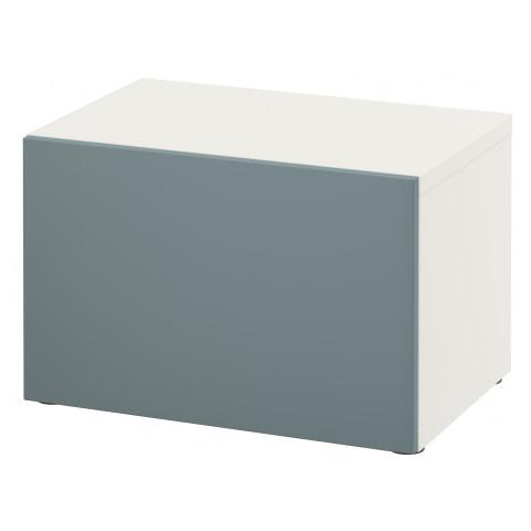 Стеллаж с дверью БЕСТО белый артикуль № 091.327.89 в наличии. Онлайн каталог ИКЕА РБ. Недорогая доставка и монтаж.