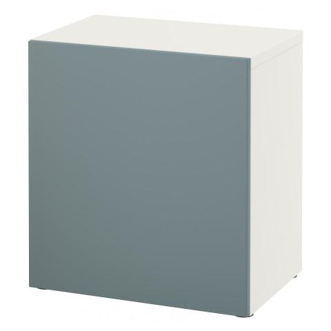 Стеллаж с дверью БЕСТО белый артикуль № 491.327.92 в наличии. Online магазин IKEA РБ. Быстрая доставка и монтаж.