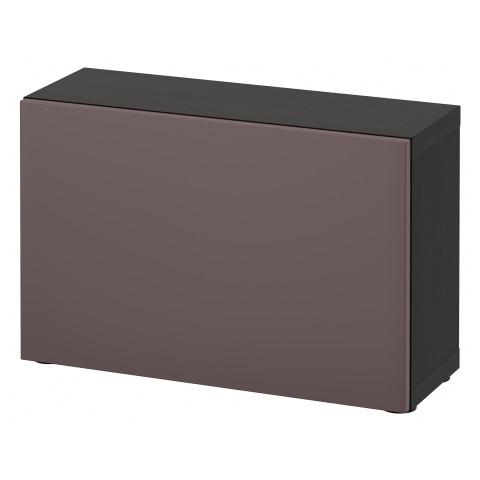 Стеллаж с дверью БЕСТО темно-коричневый артикуль № 591.506.86 в наличии. Интернет сайт IKEA Республика Беларусь. Недорогая доставка и соборка.