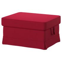 Табурет для ног ЭКТОРП красный артикуль № 791.335.11 в наличии. Интернет сайт ИКЕА Минск. Недорогая доставка и установка.