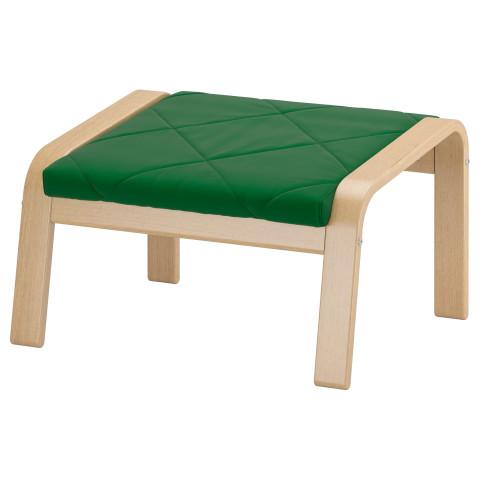 Табурет для ног ПОЭНГ зеленый артикуль № 091.505.61 в наличии. Интернет магазин IKEA Республика Беларусь. Быстрая доставка и установка.