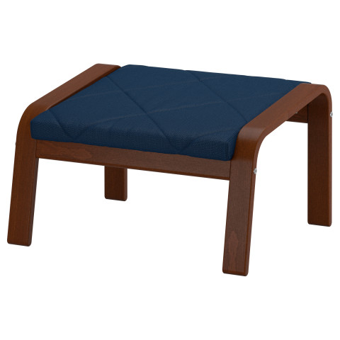Табурет для ног ПОЭНГ темно-синий артикуль № 691.501.53 в наличии. Онлайн магазин IKEA Минск. Быстрая доставка и монтаж.