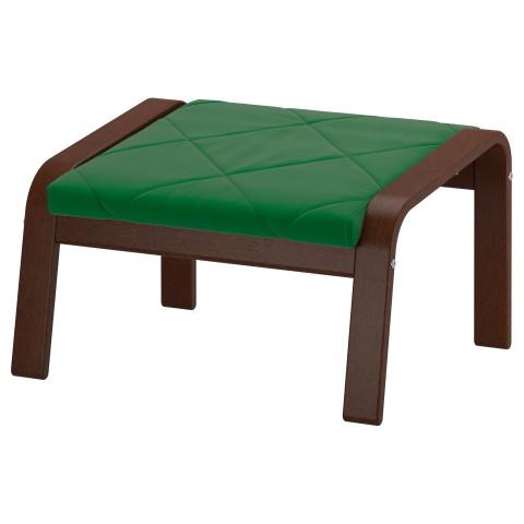 Табурет для ног ПОЭНГ зеленый артикуль № 891.505.43 в наличии. Интернет магазин IKEA Республика Беларусь. Недорогая доставка и монтаж.