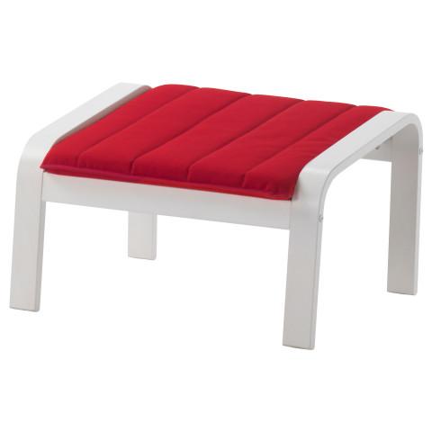 Табурет для ног ПОЭНГ красный артикуль № 891.631.64 в наличии. Онлайн каталог IKEA Республика Беларусь. Быстрая доставка и соборка.