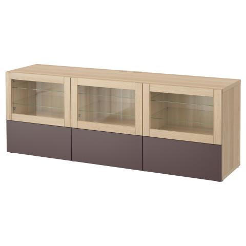 Тумба под ТВ, с дверцами и ящиками БЕСТО артикуль № 591.380.48 в наличии. Онлайн сайт IKEA Минск. Недорогая доставка и установка.