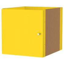 Вставка с дверцей КАЛЛАКС желтый артикуль № 203.233.82 в наличии. Онлайн сайт IKEA Минск. Быстрая доставка и установка.