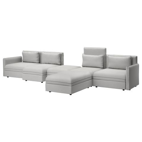 5-местный диван-кровать ВАЛЛЕНТУНА светло-серый артикуль № 691.496.59 в наличии. Онлайн магазин ИКЕА Республика Беларусь. Быстрая доставка и установка.