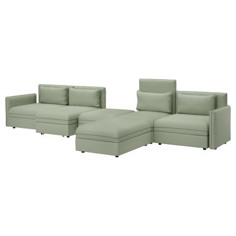5-местный диван-кровать ВАЛЛЕНТУНА зеленый артикуль № 891.497.81 в наличии. Online магазин IKEA Минск. Быстрая доставка и монтаж.