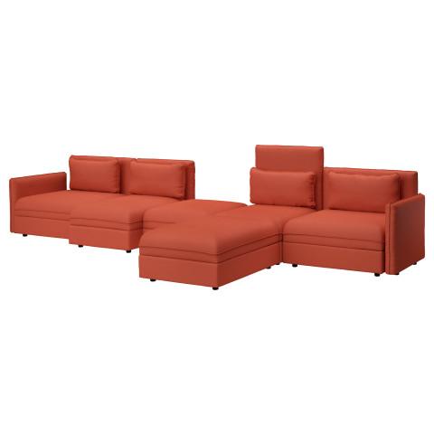 5-местный диван ВАЛЛЕНТУНА оранжевый артикуль № 291.622.71 в наличии. Интернет сайт IKEA Беларусь. Быстрая доставка и установка.