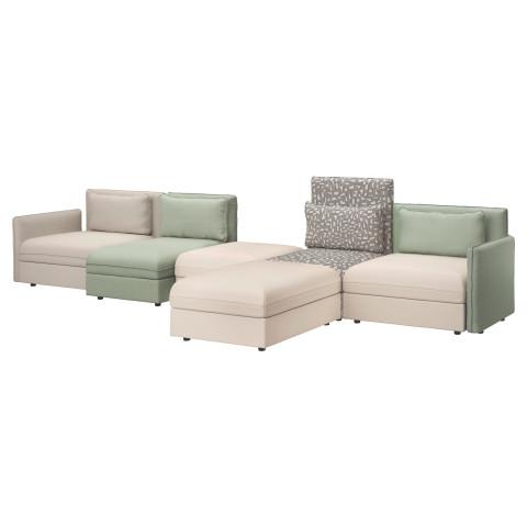 5-местный диван ВАЛЛЕНТУНА зеленый артикуль № 491.615.10 в наличии. Интернет магазин IKEA РБ. Недорогая доставка и соборка.