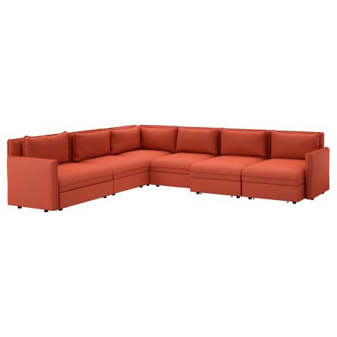 6-местный диван-кровать ВАЛЛЕНТУНА оранжевый артикуль № 891.621.07 в наличии. Интернет каталог IKEA РБ. Недорогая доставка и монтаж.