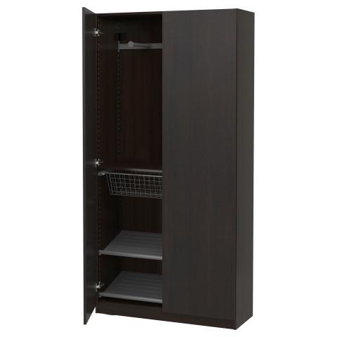 Гардероб ПАКС артикуль № 491.611.43 в наличии. Онлайн магазин IKEA Минск. Недорогая доставка и соборка.