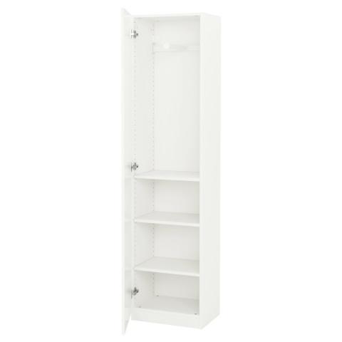 Гардероб ПАКС белый артикуль № 691.611.37 в наличии. Online сайт IKEA Минск. Недорогая доставка и монтаж.