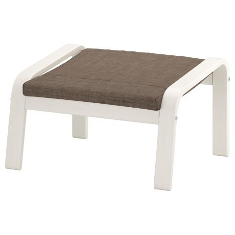 Табурет для ног ПОЭНГ коричневый артикуль № 191.631.48 в наличии. Online магазин IKEA Беларусь. Недорогая доставка и соборка.