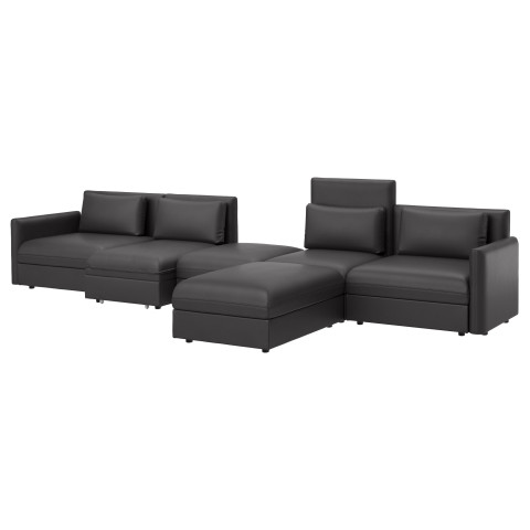 5-местный диван-кровать ВАЛЛЕНТУНА черный артикуль № 691.494.71 в наличии. Интернет каталог IKEA Минск. Быстрая доставка и монтаж.