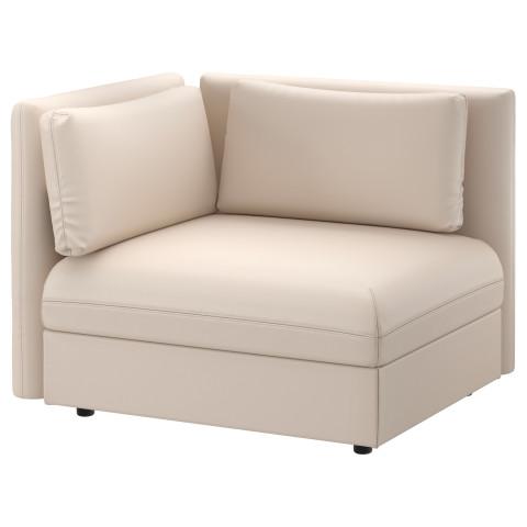 Секция дивана со спинкой ВАЛЛЕНТУНА бежевый артикуль № 291.495.43 в наличии. Онлайн каталог IKEA РБ. Недорогая доставка и монтаж.