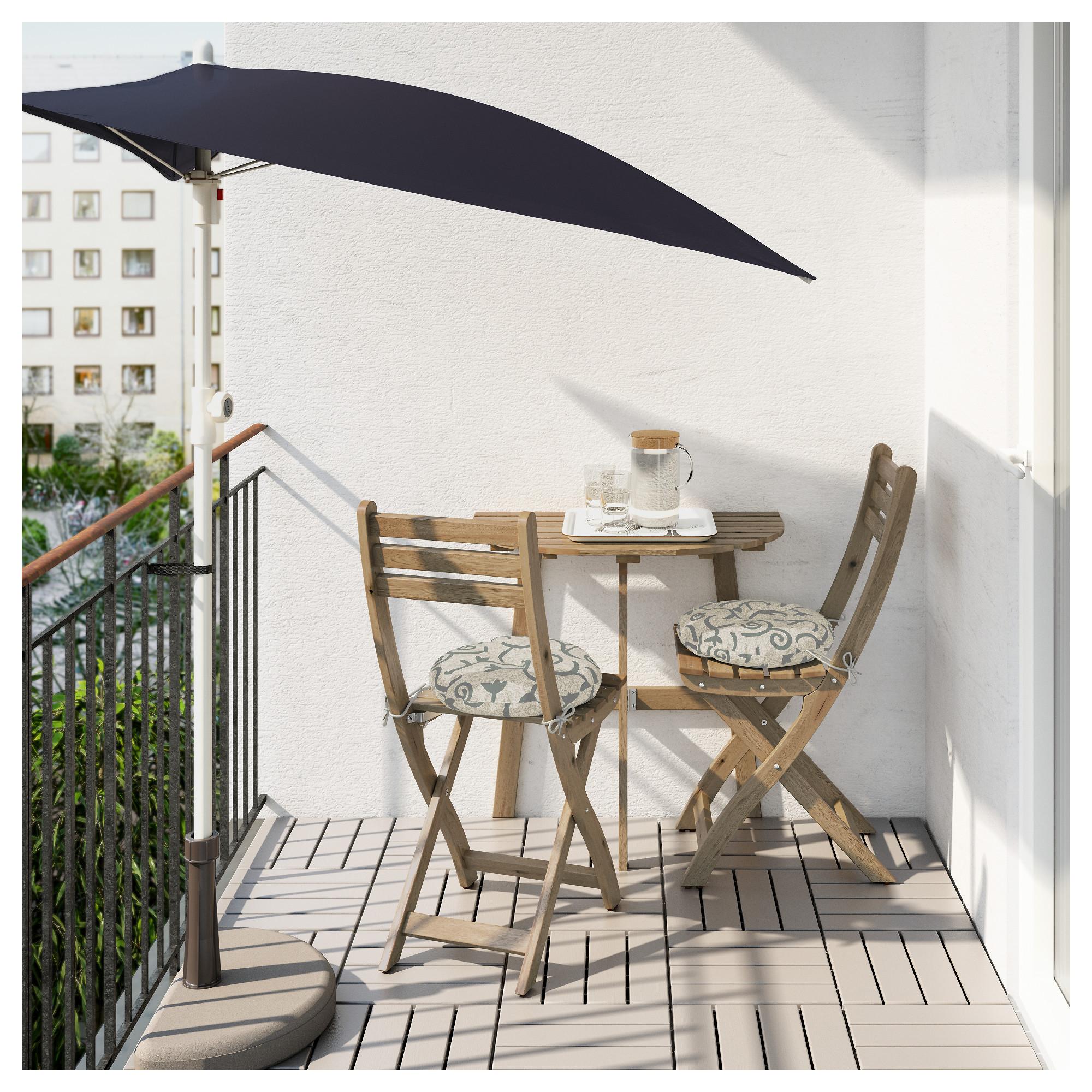 Икеа складной столик для балкона.