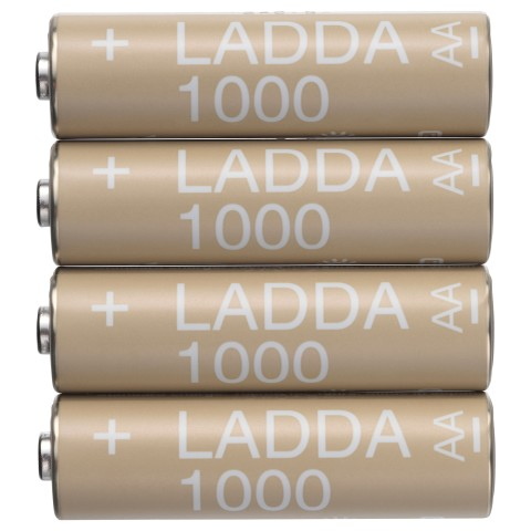 Аккумуляторная батарейка ЛАДДА артикуль № 203.038.74 в наличии. Online сайт IKEA РБ. Быстрая доставка и монтаж.