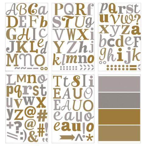 Декоративные наклейки КЛЭТТА золотистый/серебристый артикуль № 503.111.51 в наличии. Интернет магазин IKEA Беларусь. Быстрая доставка и установка.