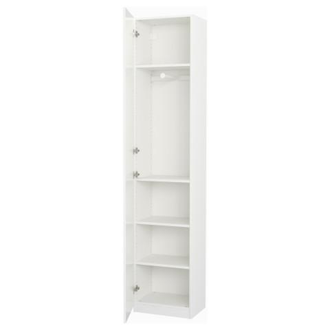 Гардероб ПАКС белый артикуль № 491.611.38 в наличии. Интернет магазин IKEA Республика Беларусь. Быстрая доставка и соборка.