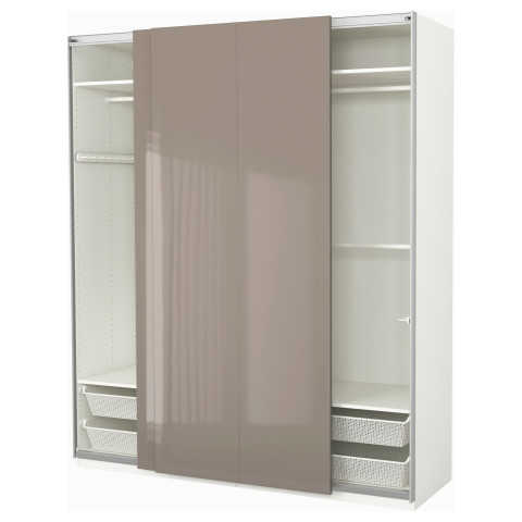 Гардероб ПАКС белый артикуль № 591.791.90 в наличии. Онлайн магазин IKEA Минск. Недорогая доставка и соборка.