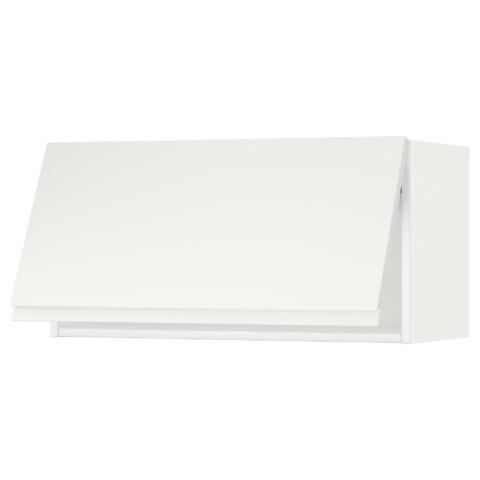 Горизонтальный навесной шкаф МЕТОД белый артикуль № 091.113.53 в наличии. Онлайн каталог IKEA Республика Беларусь. Недорогая доставка и соборка.
