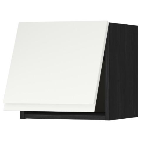 Горизонтальный навесной шкаф МЕТОД черный артикуль № 391.114.55 в наличии. Онлайн магазин IKEA РБ. Недорогая доставка и монтаж.