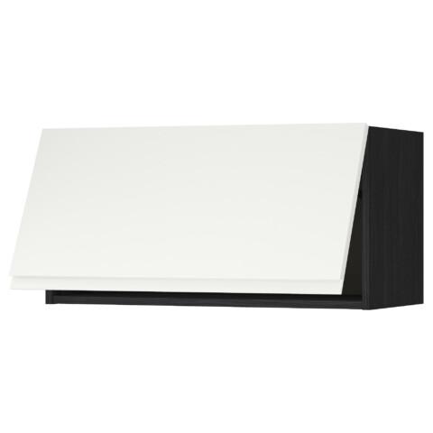 Горизонтальный навесной шкаф МЕТОД черный артикуль № 991.114.57 в наличии. Online каталог IKEA РБ. Недорогая доставка и соборка.
