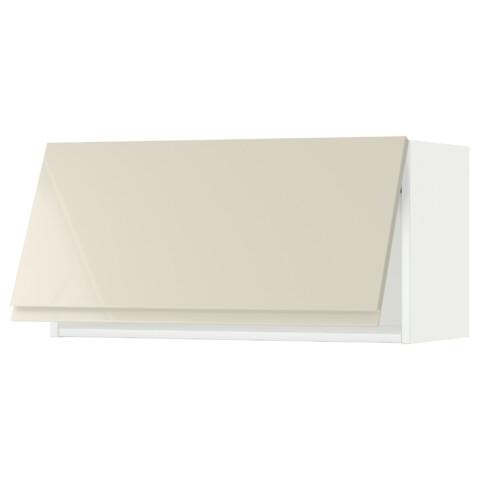 Горизонтальный навесной шкаф МЕТОД белый артикуль № 991.432.36 в наличии. Online магазин IKEA Беларусь. Быстрая доставка и монтаж.