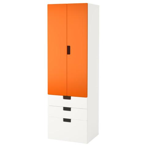 Комбинация для хранения с дверцами, ящиками СТУВА оранжевый артикуль № 591.720.42 в наличии. Интернет магазин IKEA Республика Беларусь. Быстрая доставка и установка.