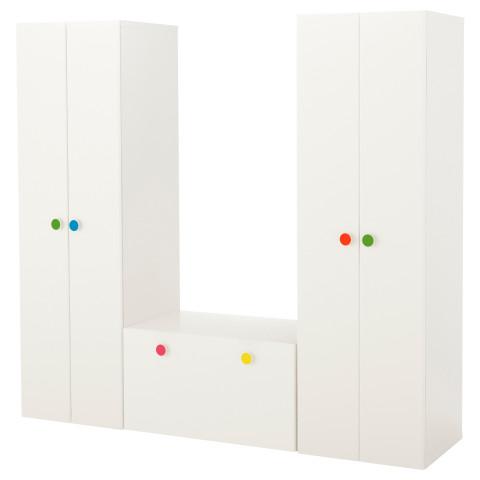 Комбинация для хранения со скамьей СТУВА / ФОЛЬЯ белый артикуль № 091.881.73 в наличии. Онлайн каталог IKEA Минск. Недорогая доставка и установка.
