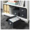 Коробка с крышкой ФЬЕЛЛА темно-серый артикуль № 803.382.53 в наличии. Онлайн сайт IKEA Республика Беларусь. Недорогая доставка и установка.