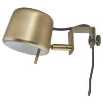 Лампа с зажимом ВАРВ желтая медь артикуль № 303.420.21 в наличии. Онлайн магазин IKEA Беларусь. Недорогая доставка и соборка.