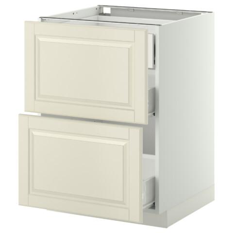 Напольный шкаф 2 фронтальные панели, 3 средняя ящик МЕТОД / ФОРВАРА белый артикуль № 299.132.34 в наличии. Онлайн магазин IKEA РБ. Быстрая доставка и соборка.