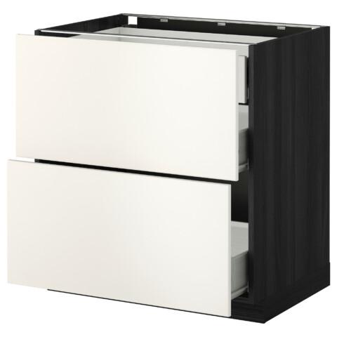 Напольный шкаф 2 фронтальные панели, 3 средняя ящик МЕТОД / ФОРВАРА белый артикуль № 999.157.72 в наличии. Интернет магазин IKEA Беларусь. Быстрая доставка и установка.