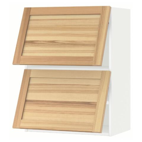 Навесной шкаф, 2 дверцы, горизонтальный МЕТОД белый артикуль № 291.342.97 в наличии. Online каталог IKEA РБ. Недорогая доставка и монтаж.