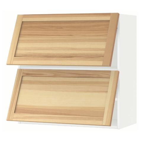Навесной шкаф, 2 дверцы, горизонтальный МЕТОД белый артикуль № 891.342.99 в наличии. Онлайн каталог IKEA Беларусь. Быстрая доставка и соборка.