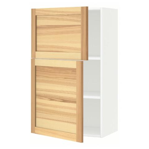 Навесной шкаф с полками, 2 дверцы МЕТОД белый артикуль № 791.342.33 в наличии. Online сайт IKEA РБ. Недорогая доставка и установка.