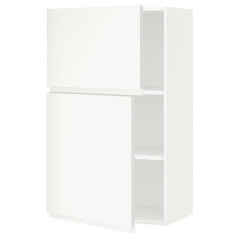 Навесной шкаф с полками, 2 дверцы МЕТОД белый артикуль № 891.113.49 в наличии. Online магазин ИКЕА РБ. Недорогая доставка и монтаж.