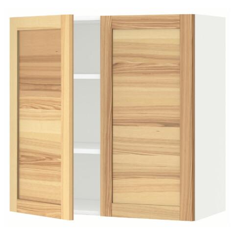 Навесной шкаф с полками, 2 дверцы МЕТОД белый артикуль № 991.342.27 в наличии. Интернет каталог IKEA Беларусь. Быстрая доставка и установка.