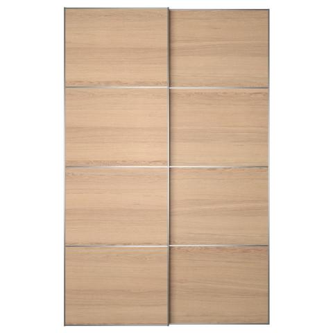 Пара раздвижных дверей ИЛЬСЕНГ артикуль № 091.912.98 в наличии. Интернет сайт IKEA РБ. Быстрая доставка и соборка.