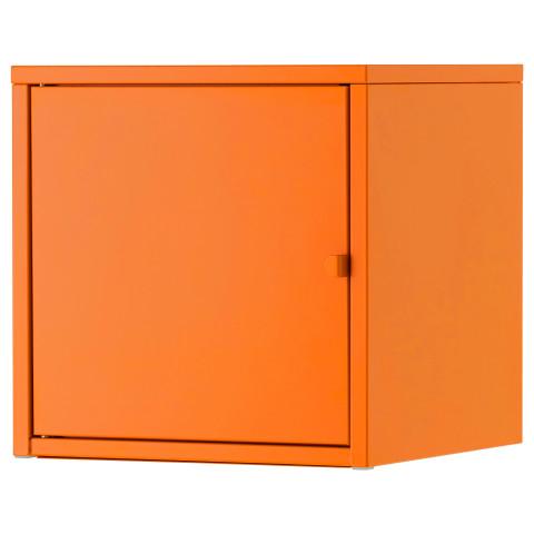 Шкаф ЛИКСГУЛЬТ оранжевый артикуль № 903.286.68 в наличии. Интернет магазин ИКЕА РБ. Быстрая доставка и соборка.