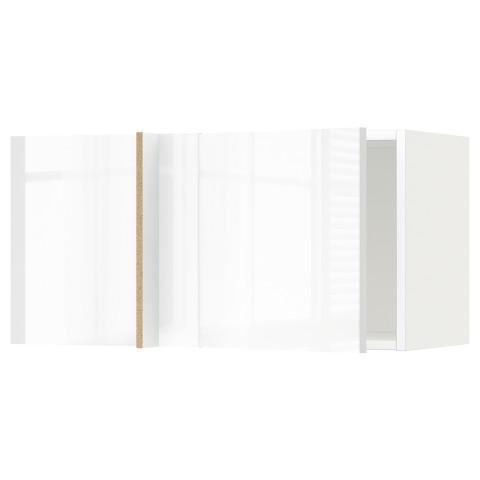 Шкаф навесной угловой МЕТОД белый артикуль № 291.242.03 в наличии. Интернет каталог IKEA Беларусь. Недорогая доставка и установка.