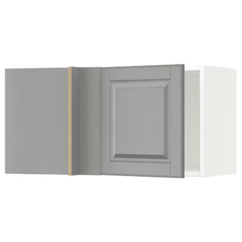 Шкаф навесной угловой МЕТОД белый артикуль № 491.241.79 в наличии. Интернет сайт IKEA РБ. Недорогая доставка и установка.